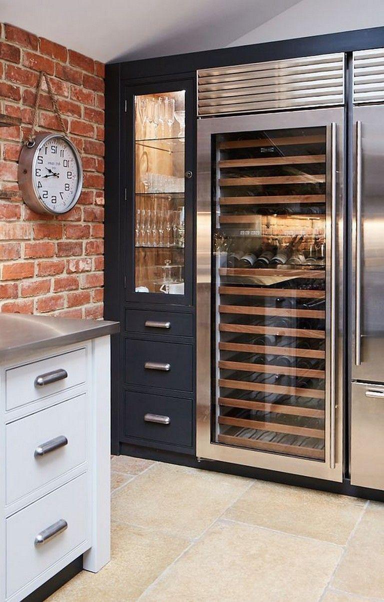 20 Luxury Wine Fridge Will Keep Your Favorite Wine Quality Storage Storageideas Storagesolutions Bespoke Kitchens Contemporary Kitchen Modern Kitchen