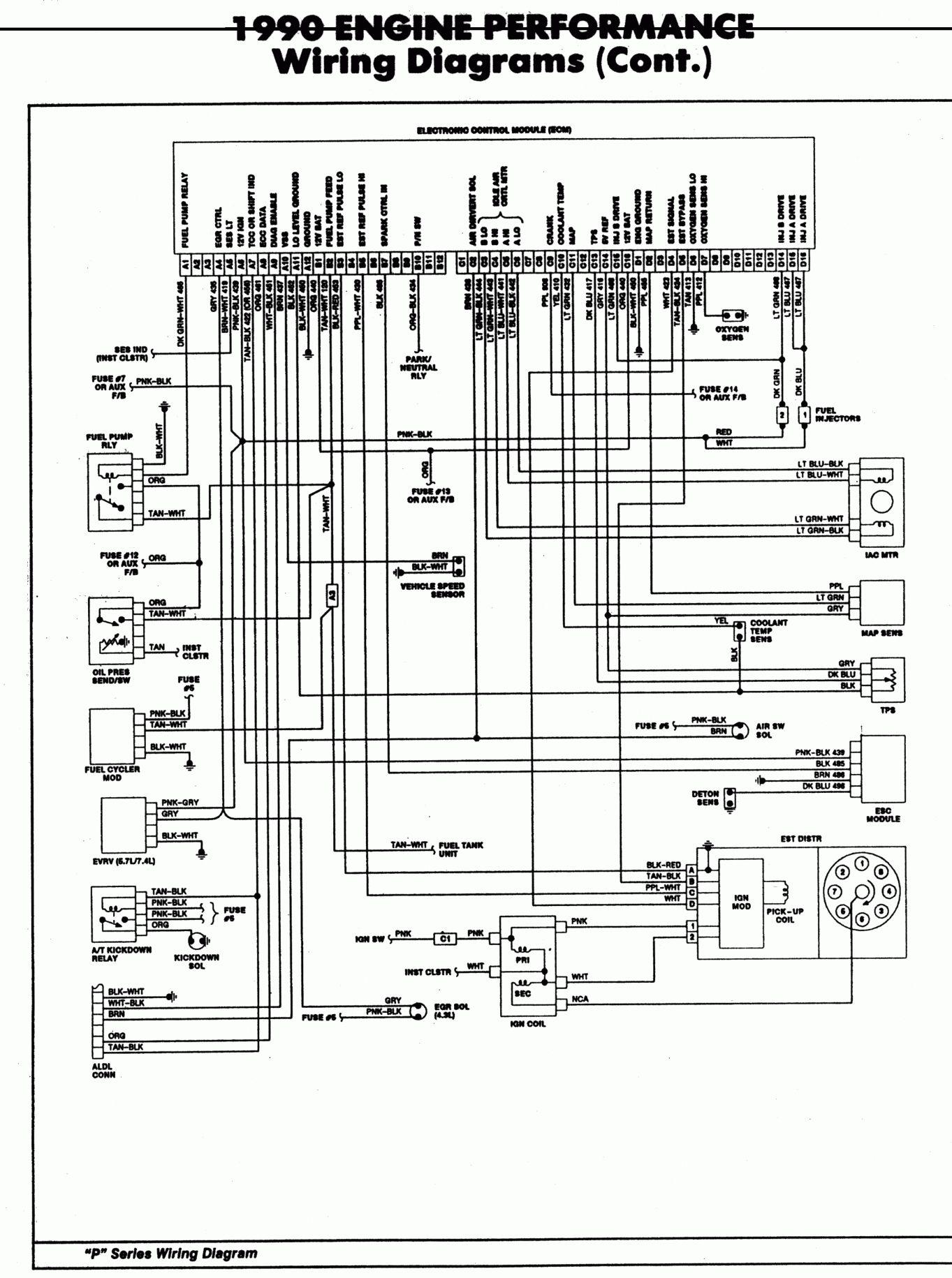 Chevy Tbi Wiring Diagram