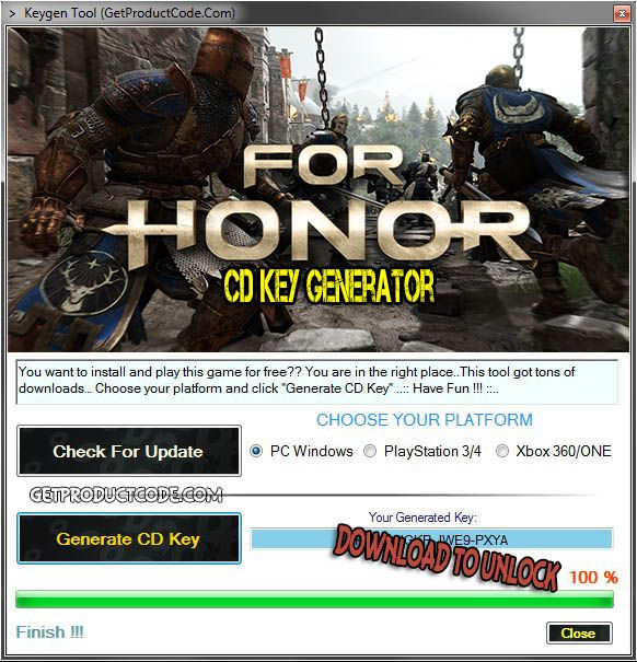 for honor is free