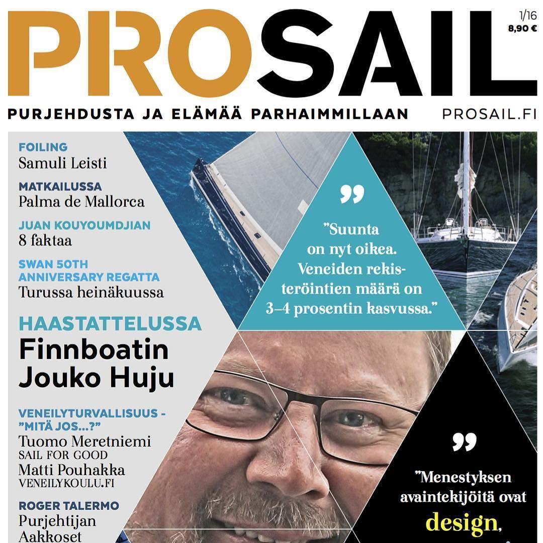 Pro Sail 1/2016 - 10.2.2016  #prosail #prosailmagazine #purjehdus #purjehdusta #magazinecover #purjevene #purjehduskisa #prosail_1_2016 #purjehduslehti #lehtipurjehtijalle #aikakauslehti #erikoislehti #erikoisaikakauslehti #purjehdusmedia #printtimedia #digilehti #finnboat #joukohuju #sailforgood #veneilykoulu #foiling #talermo #rogertalermo #style #design #mosaic #sailing #sailboat #kansikuva by prosailmagazine