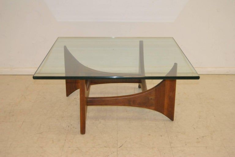 Mid Century Square Coffee Table In 2020