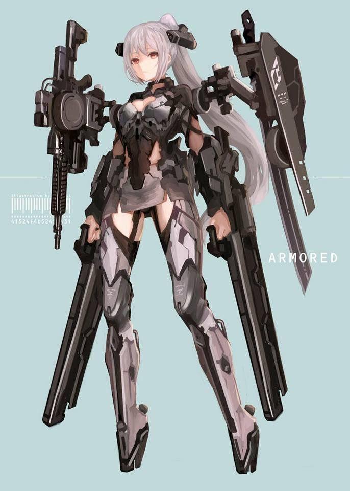 Pin By Terry 00000000 On Anime Anime Character Design Mecha Anime Cyborg Anime