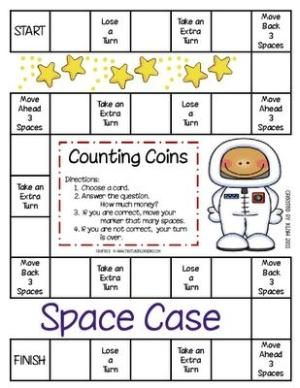 graphic relating to Printable Money Games identify counting cash match free of charge printable through etta Math Centre