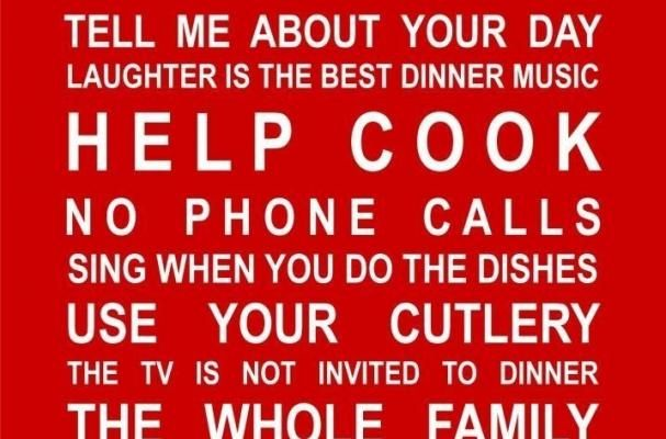 Family reminders.