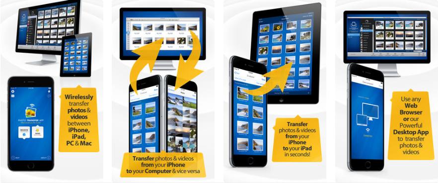 تطبيق Photo Transfer App Bitwise لنقل الصور من الجوال للكمبيوتر والعكس بسرعة كبيرة Ipad Photo Web Photos Photo Transfer