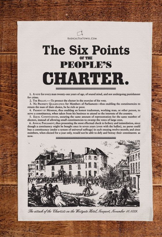 Chartism Was A Working Class Movement For Political Reform In