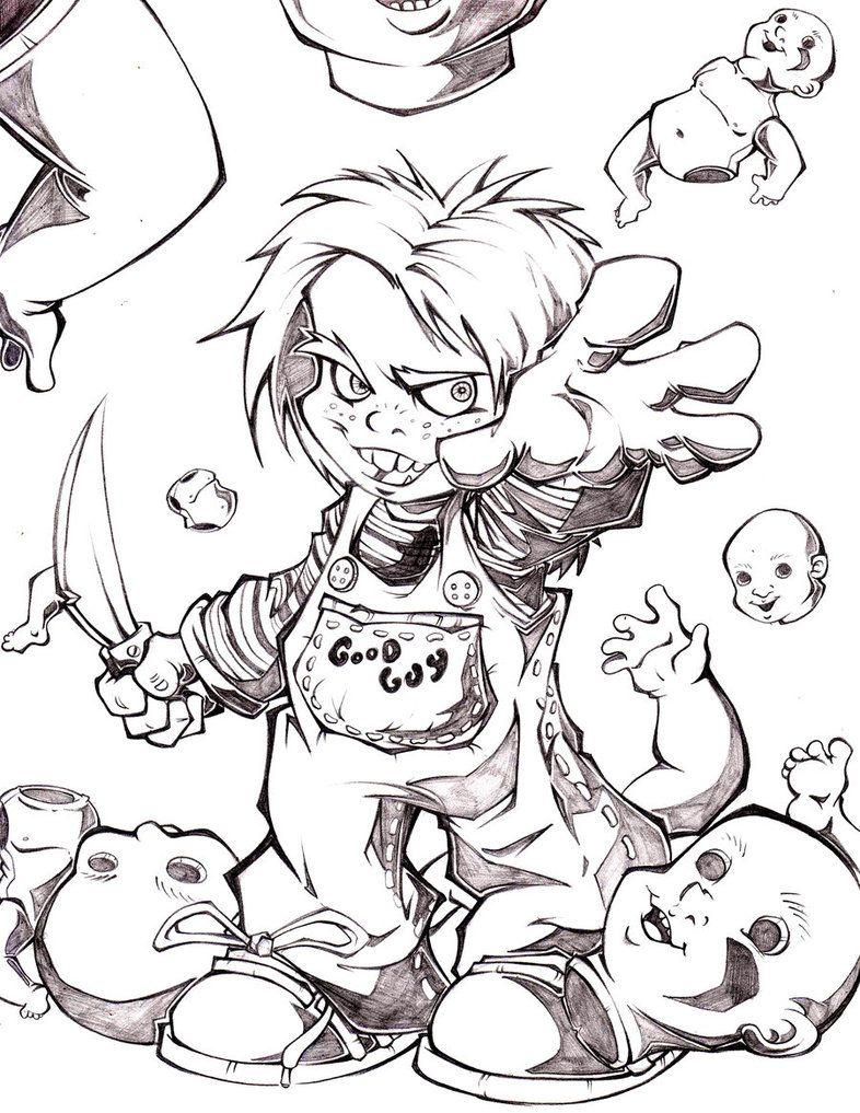 Chucky by on DeviantArt Ý