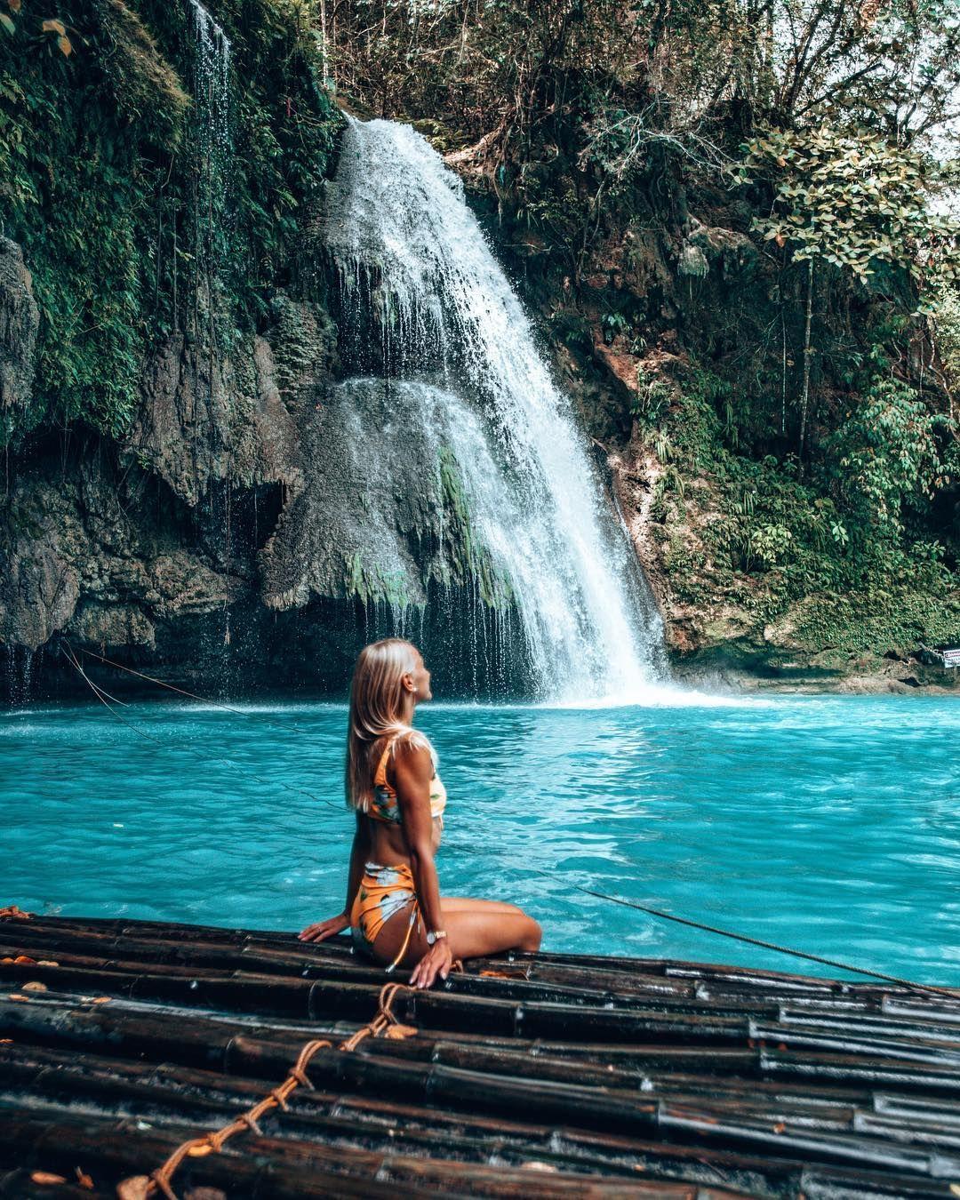 Kawasan Falls Cebu Philippines Kawasan Falls Magical Places