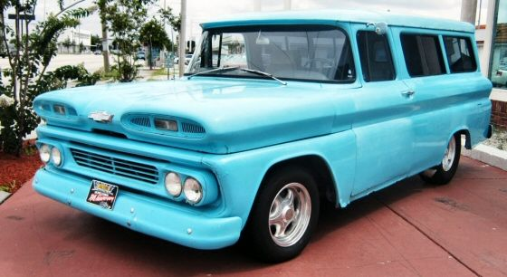 Picture Of 1960 Chevy Panel Truck Street Rod Skully S Station