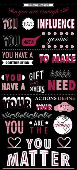 @conniehamilton @DanVForbes @_ericturner @BevLadd @tbwatkins89  via @AngelaMaiers   #YouMatter #PayItForward
