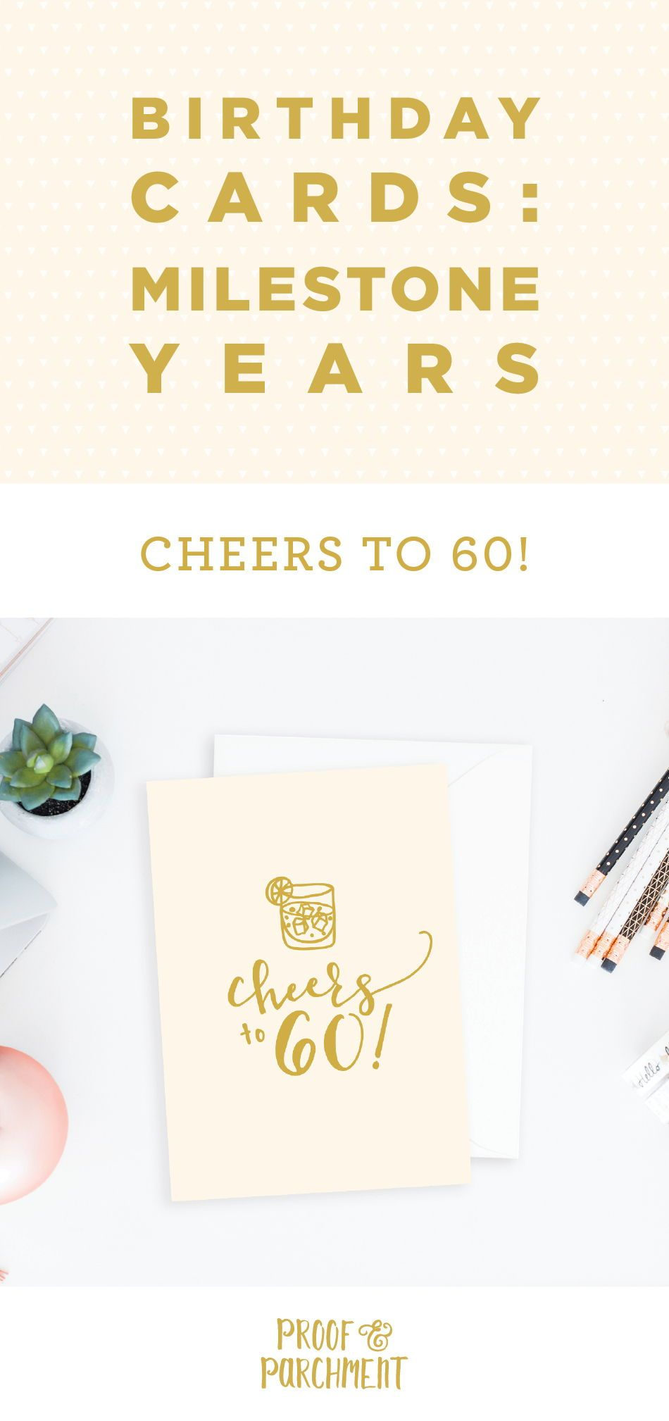 60th Birthday Card Happy 60th Birthday Cheers To 60 Etsy 60th Birthday Cards Birthday Cards 100th Birthday Card