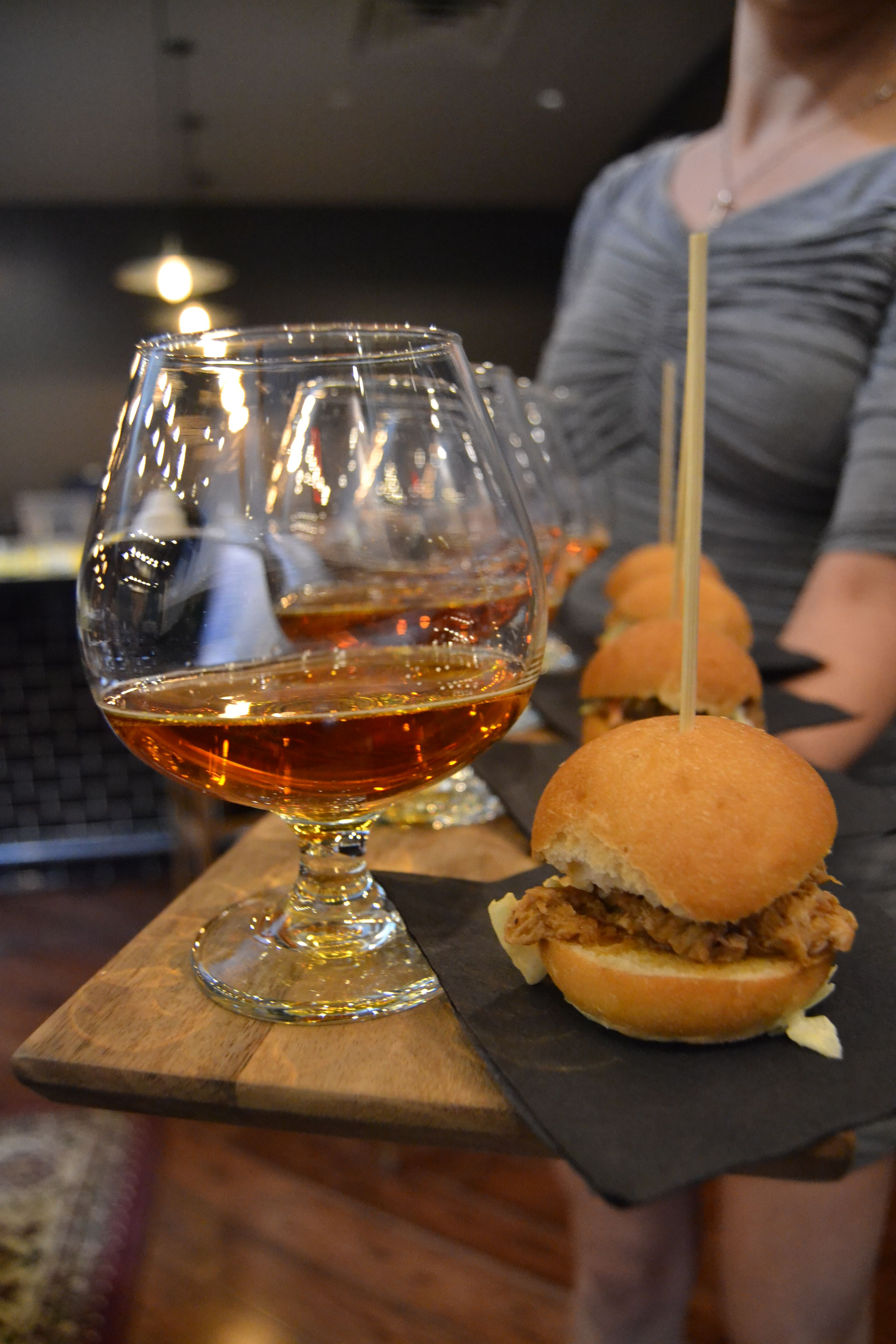 Beer and pulled pork sliders - MStreet Catering and Events, Nashville, TN