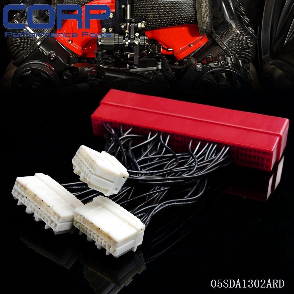 Us Obd2b To Obd1 Replace Ecu Jumper Conversion Wiring Wire Harness For Honda Acura