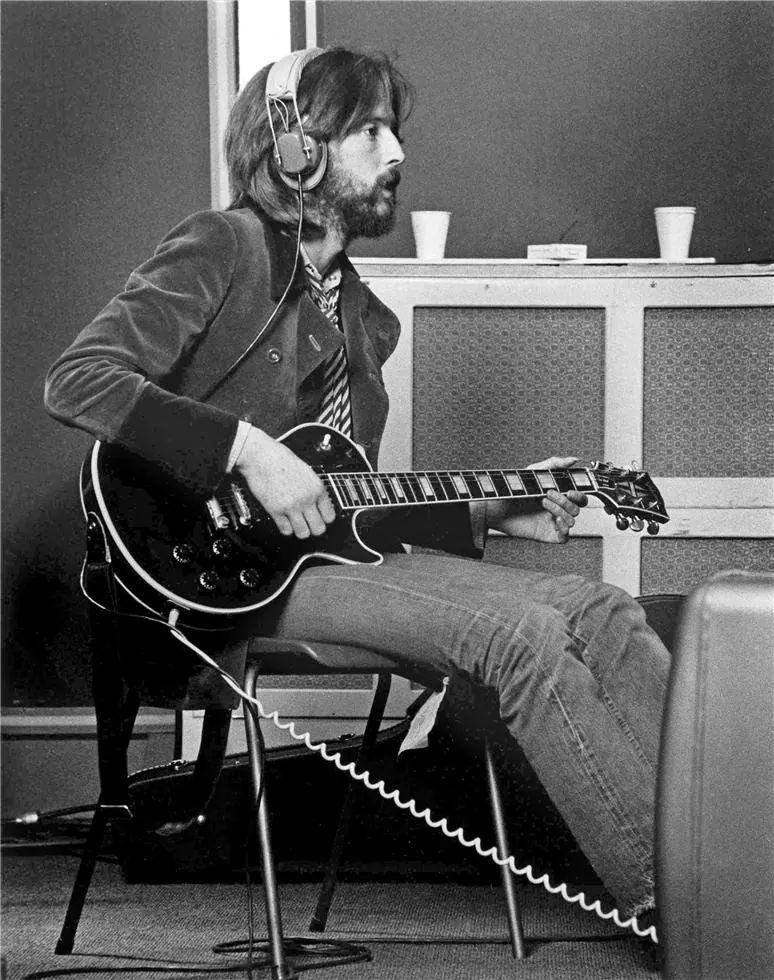 Eric Clapton In The Studio 1969 Music Amp It S Legends