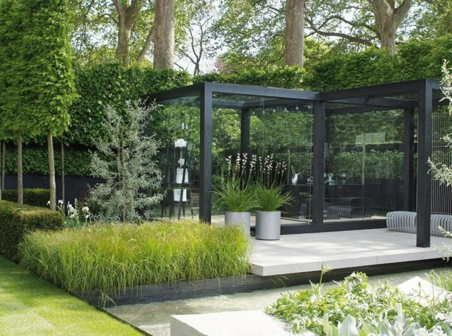 47 imágenes de jardines contemporáneos espectaculares | jardines