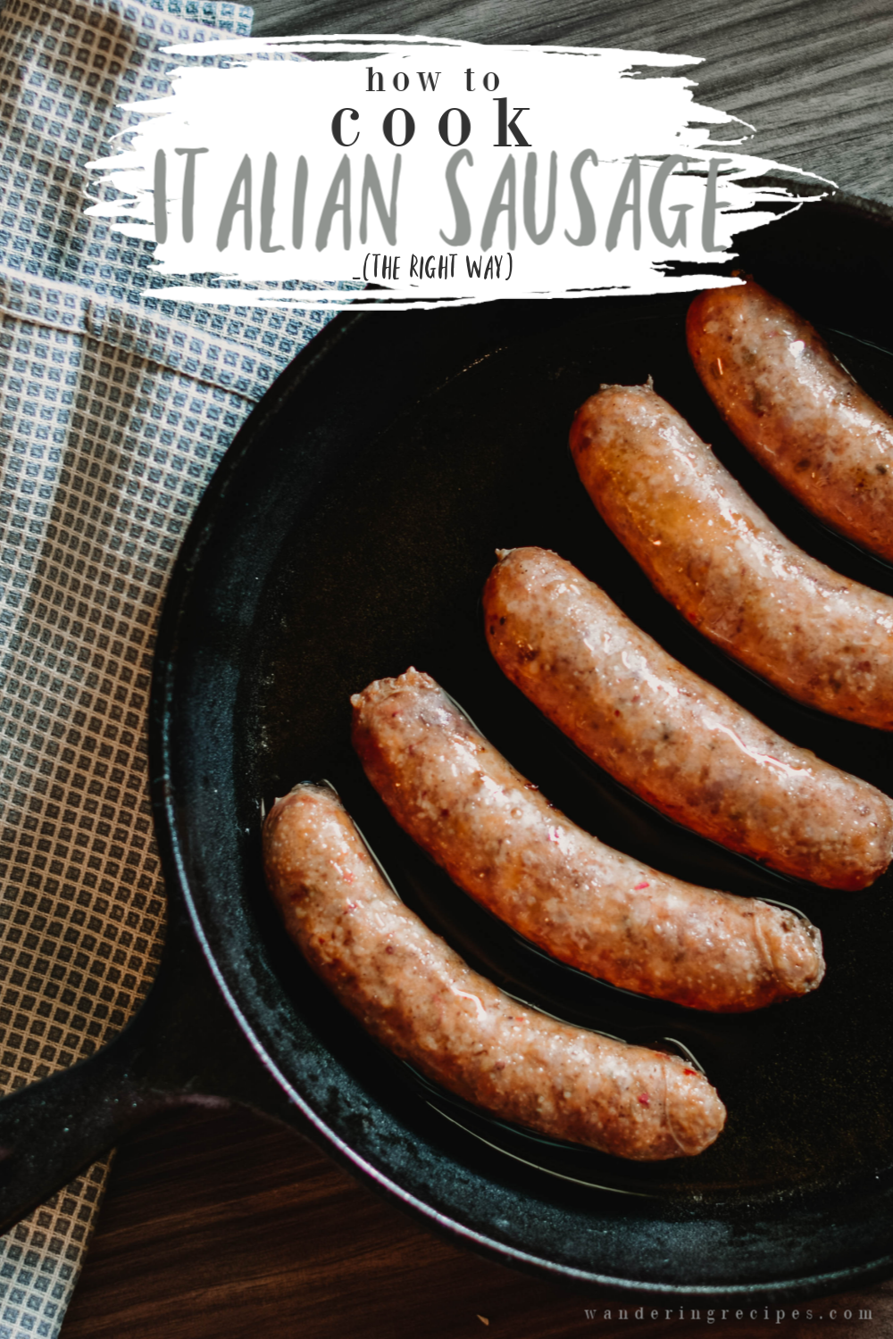 Photo of Perfect Italian Sausage Every time! How to cook Italian Sausage