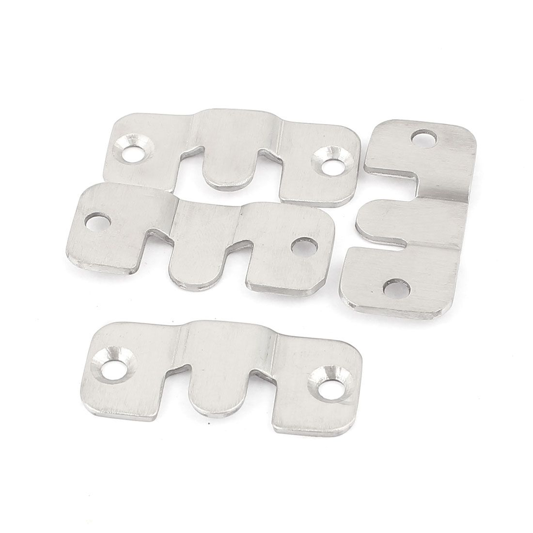 Uxcell Universal Sectional Interlock Sofa Couch Connector Bracket Set 4pcs