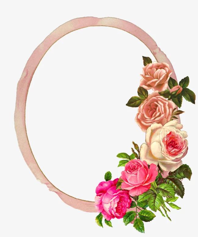 اطارات وورد جاهزة للكتابة موسوعة Flower Frame Flower Frame Png Digital Flowers