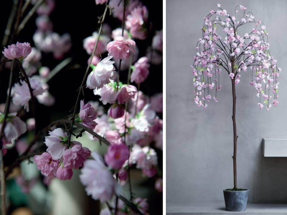 How Gorgeous Is This Sia Cherry Blossom Tree Perfect For A Spring Wedding Flowers Uk Cherry Blossom Tree Artificial Flowers