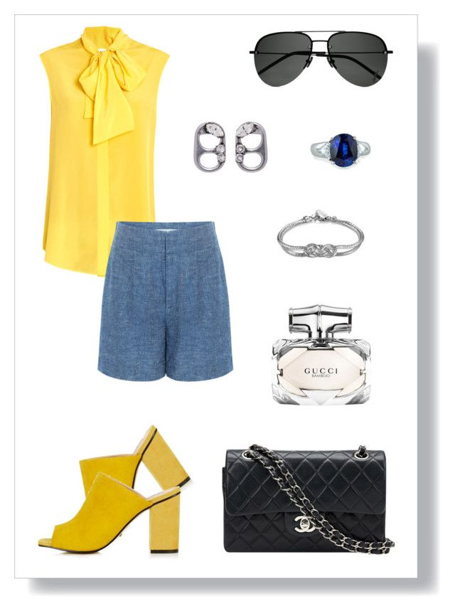 № 471 by tigrpuh on Polyvore featuring мода, Moschino, 10 Crosby Derek Lam, Topshop, Chanel, Marc Jacobs, John Hardy, Fantasia by DeSerio, Yves Saint Laurent and Gucci