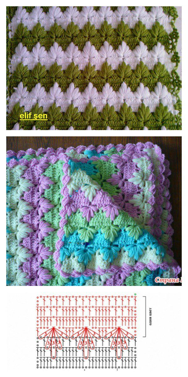 Beautiful Spike Stitch Crochet Free Patterns and Projects (Part 1 ...