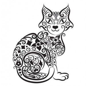 Tatouage Temporaire Chat Tattoo Www Tattoo Sticker Com Tatouage Chat Tatouage Chat