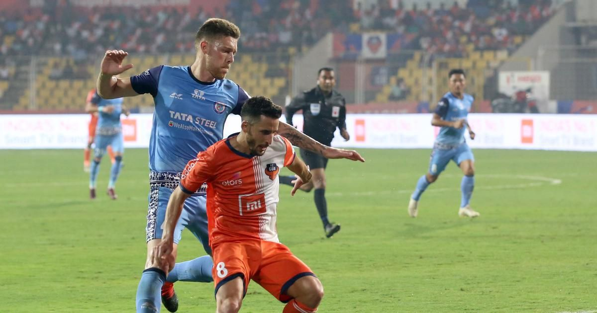 Jamshedpur vs Goa match, ISL 2019 Sports, Football, Match