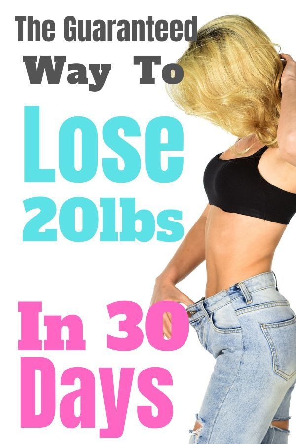 Lose 20 Pounds FAST!