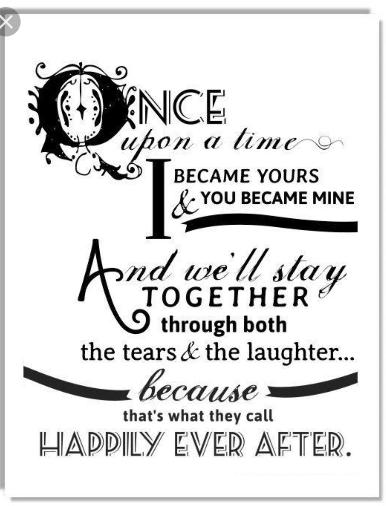 Just Married Quotes I Wish  Fairy Tales. Pinterest  Meaningful Quotes And