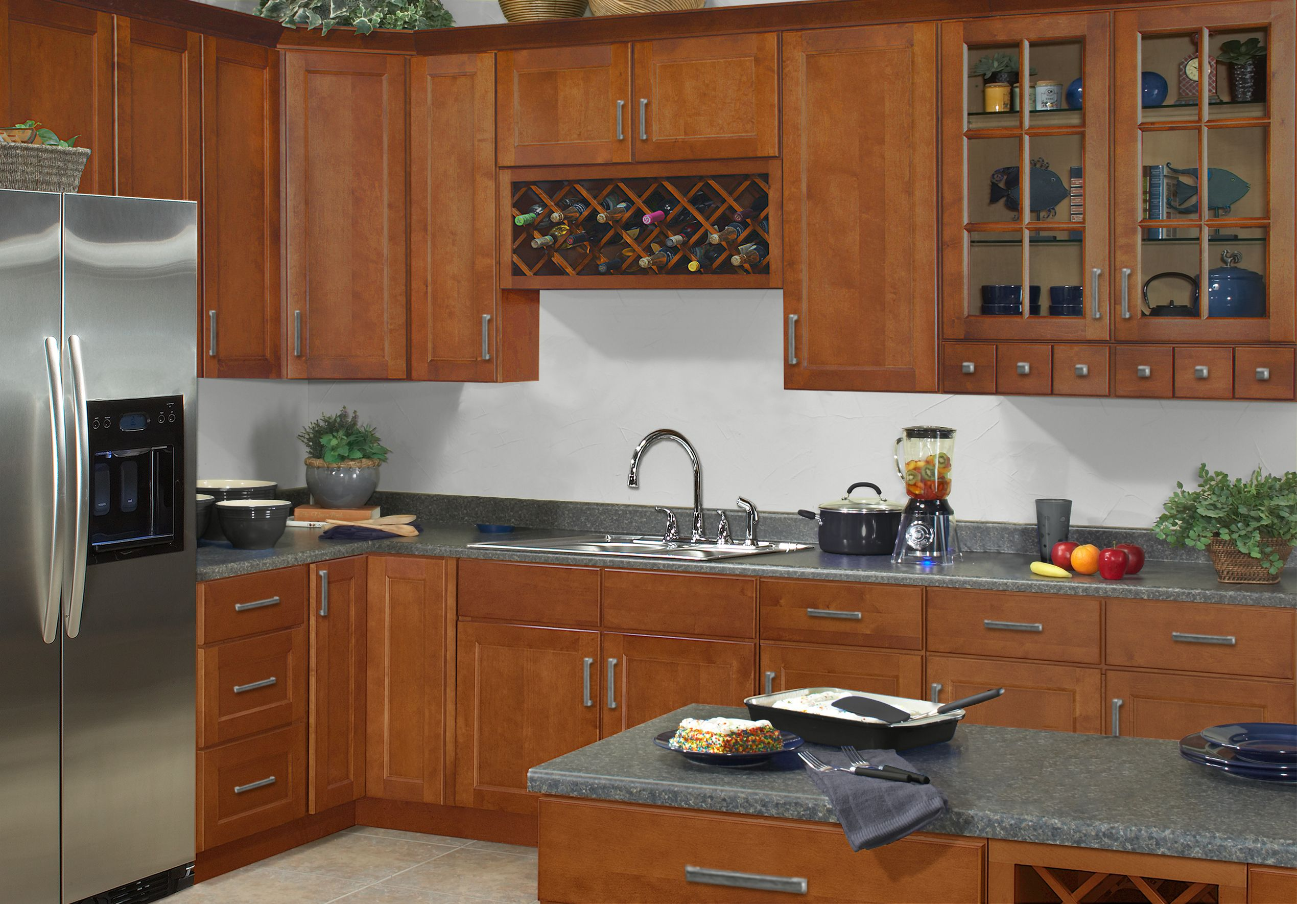 New Ellisen Kitchen Collection From Sunnywood Find Out More At Www Sunnywood Biz Kitchen Cabinets Brown Kitchen Cabinets Assembled Kitchen Cabinets