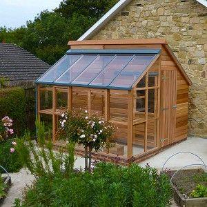 Grow and Store - Un combiné bien pensé d\'abri de jardin et de serre ...