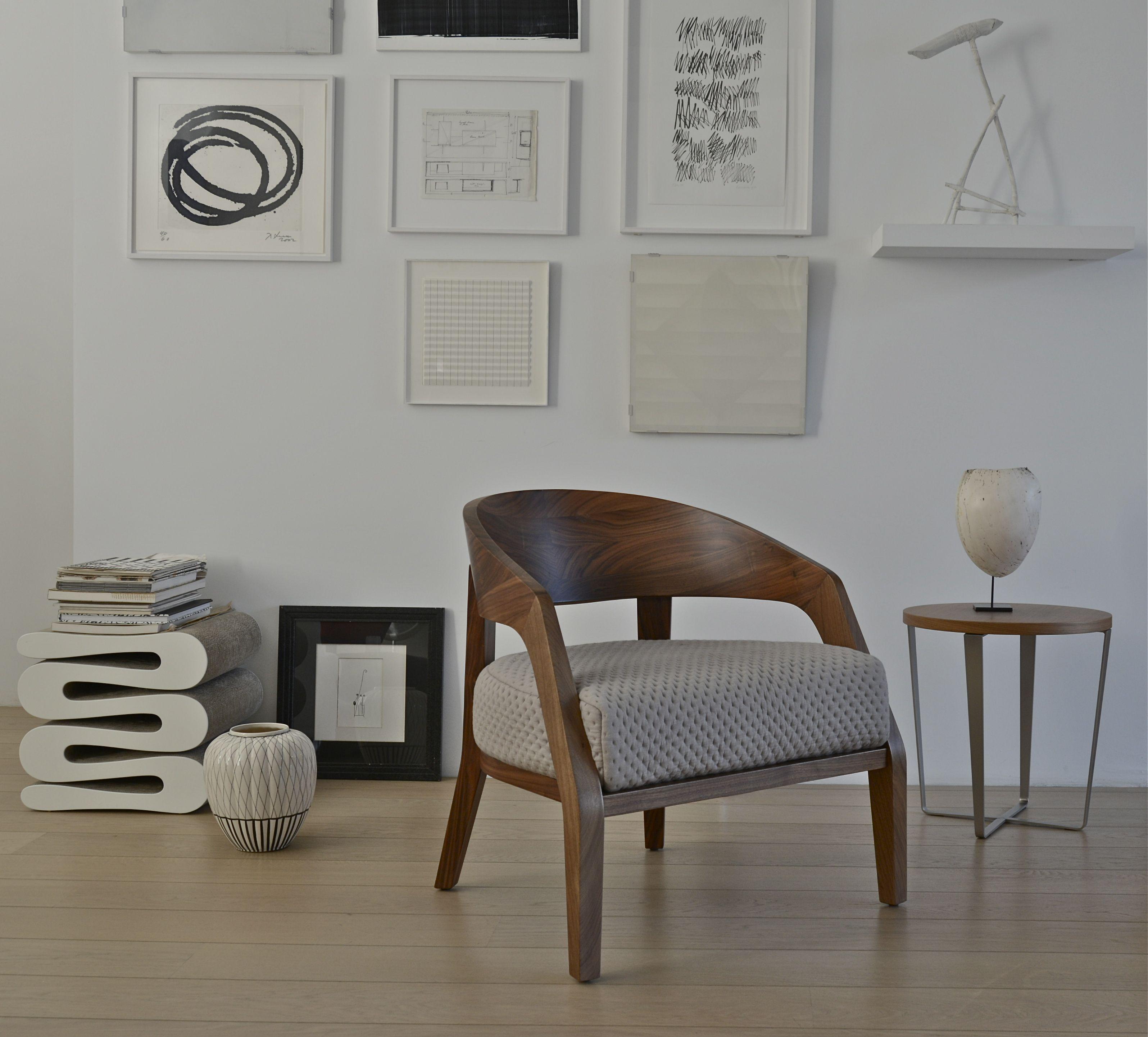 Easy Chair Alba Made By Porada Side Table Rosie Design Margie Walraven