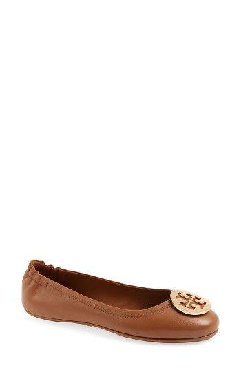 Bag · TORY BURCH WOMEN'S TORY BURCH 'MINNIE' TRAVEL BALLET FLAT. #toryburch  #shoes