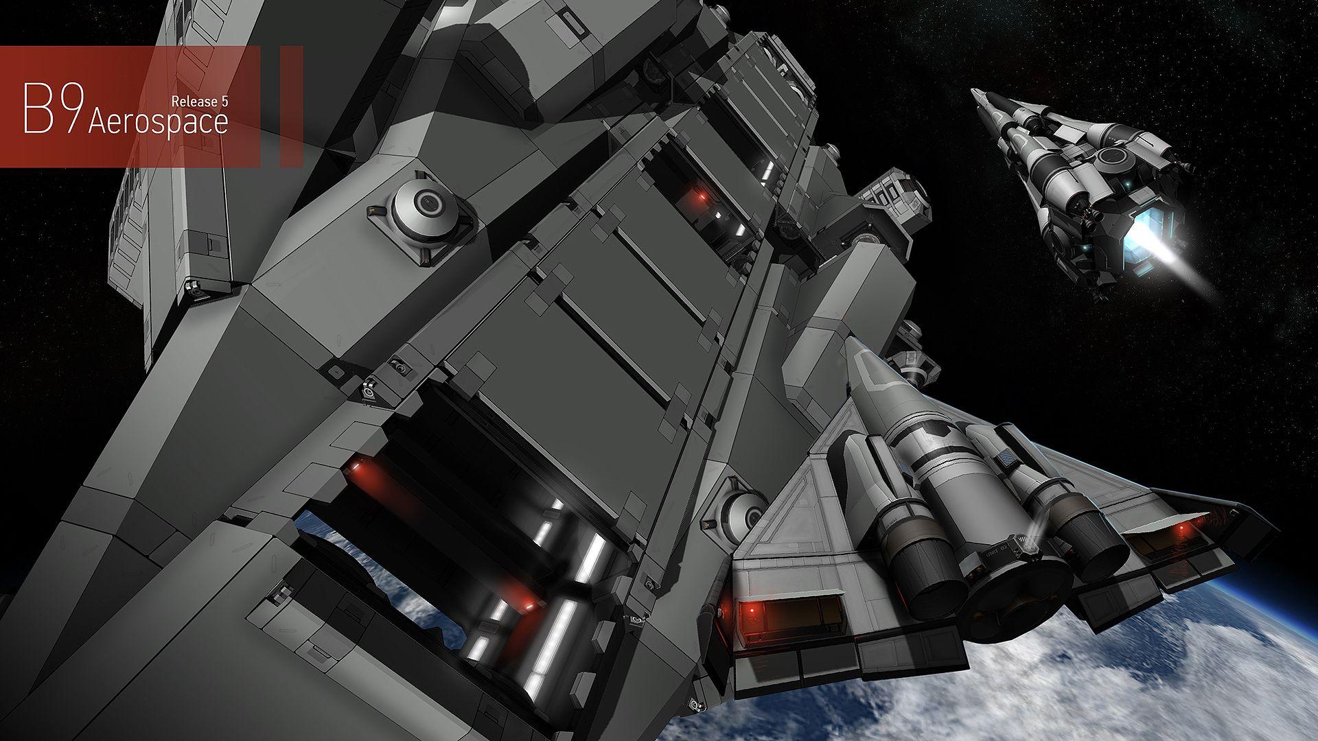 B9 Aerospace 5 2 8 Kerbal Space Program Space Program Aerospace