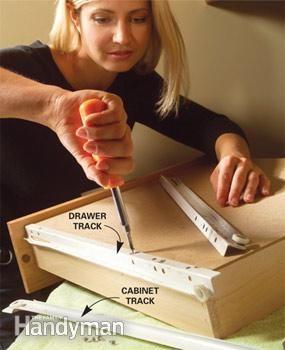 Kitchen Cabinets: 9 Easy Repairs | Diy home repair ...