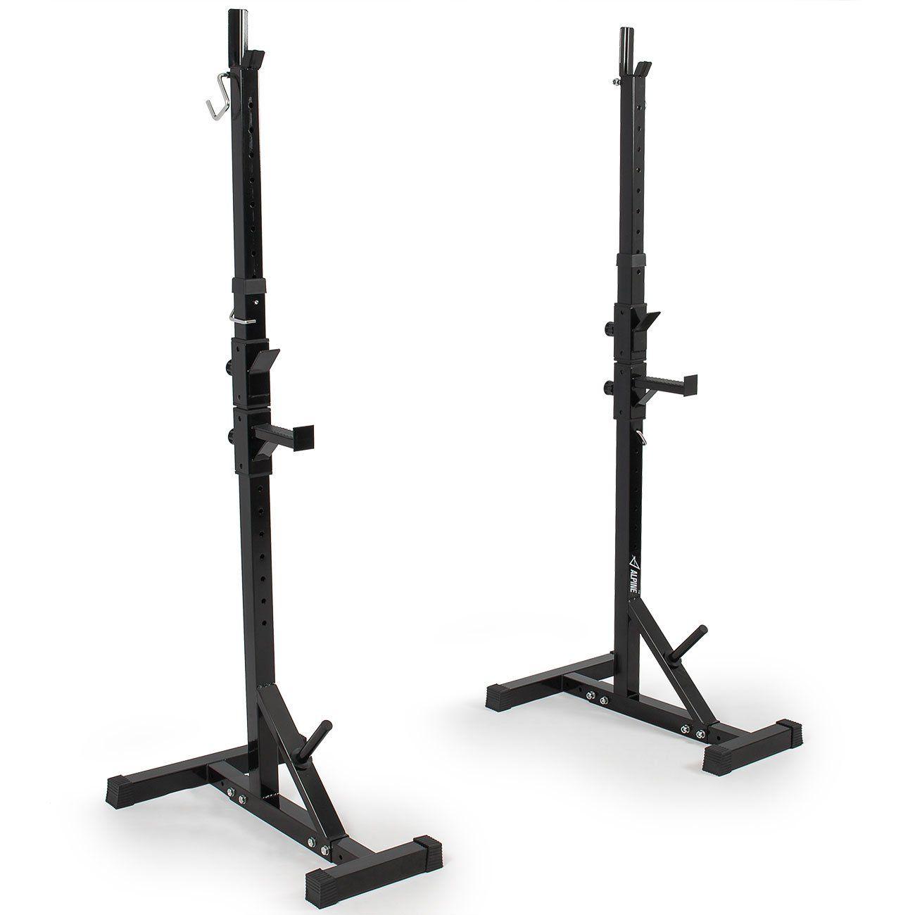 Akonza pair of adjustable standard solid steel power squat