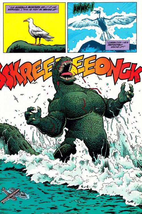 Godzilla: King of the Monsters #2, by Dark Horse Comics