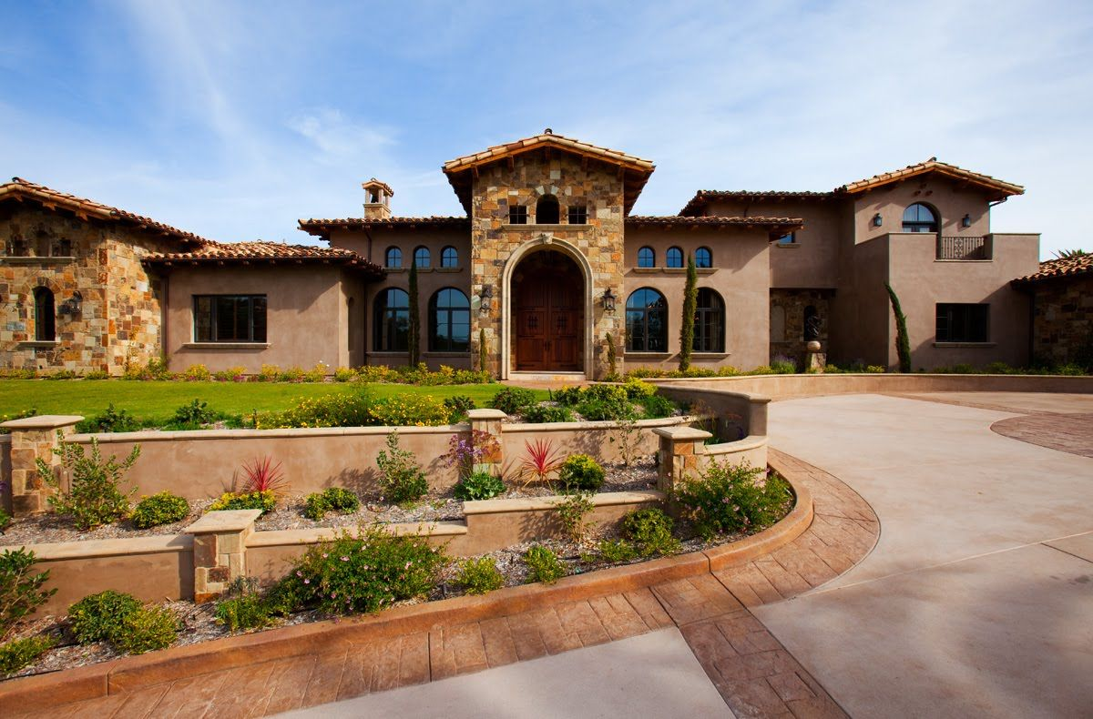 17 Opulent Mediterranean Landscape Designs Are The Daily: Anythingology: Tuscan Villa