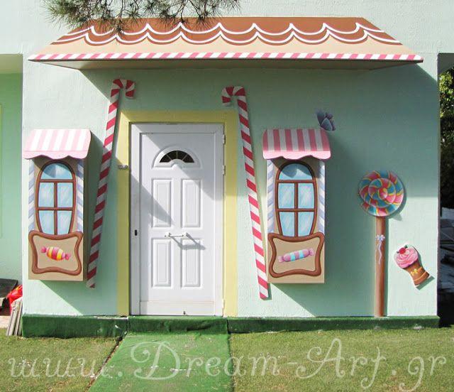 Dream-Art.gr: Ζωγραφική στο Βρεφονηπιακό Σταθμό 'Καραμελόσπιτο' ...