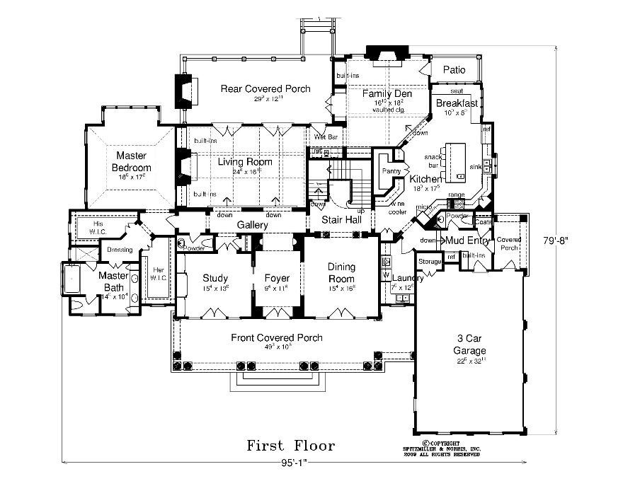 Like The Master Suite Flow Including The His And Her Closets Could Make The Room A Little Smaller Still Want To House Plans Mediterranean Homes How To Plan
