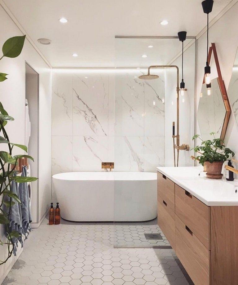 45 Awesome Inspiring Scandinavian Bathroom Design Ideas Scandinavian Bathroom Design Cozy Bathroom Bathroom Interior Design