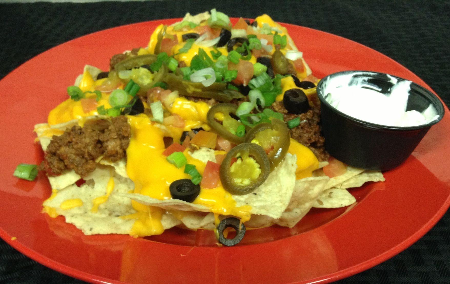 Mile High Nacho Food, Tasty dishes, Good food