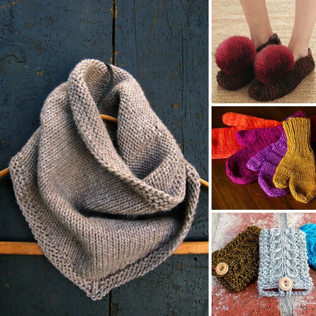 10 Quick-Knit Gifts: Free Patterns for Everyone on Your ...