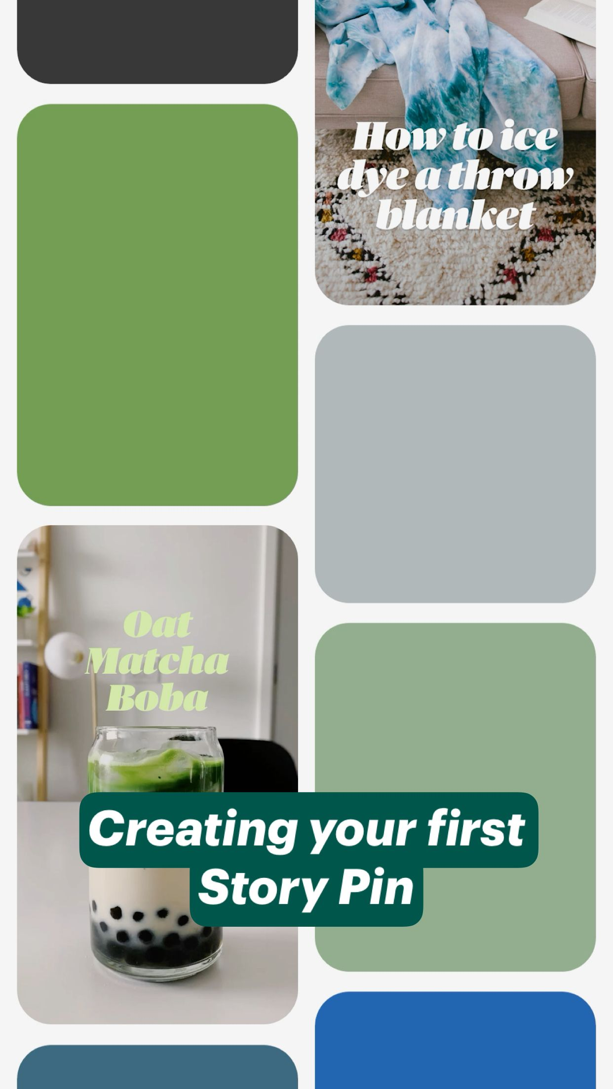 Creating your first  Story Pin