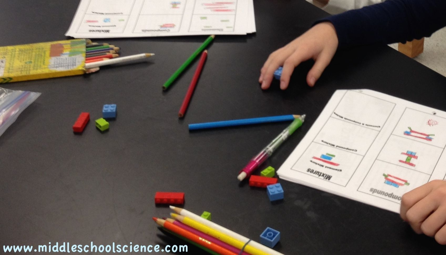 Using Lego Bricks Elements Compounds And Mixtures