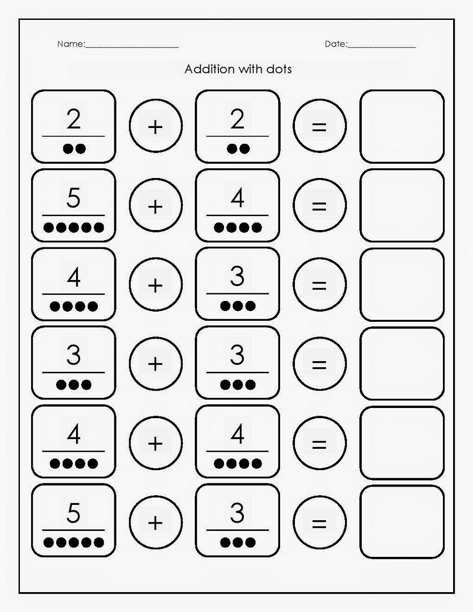 Free Printable Basic Math Worksheets   Kindergarten math ...