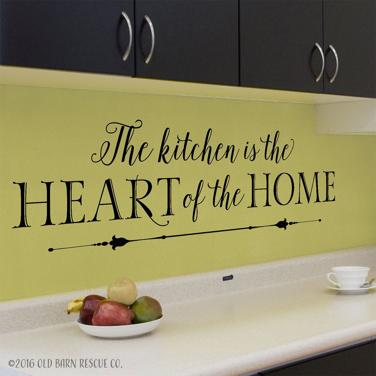 The kitchen is the heart of the home - super cute! | Kitchen ideas ...