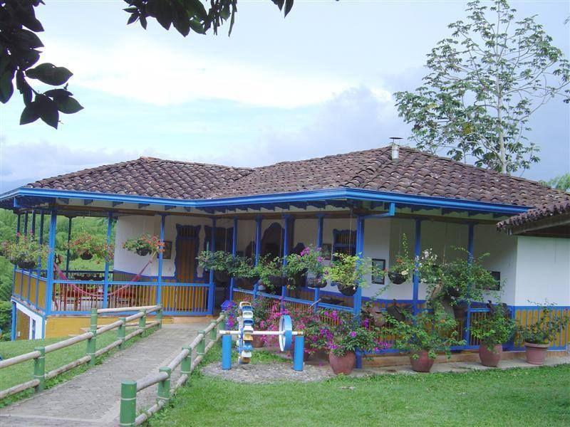 Casa finca típica en cualquier lugar de Antioquia... Clima
