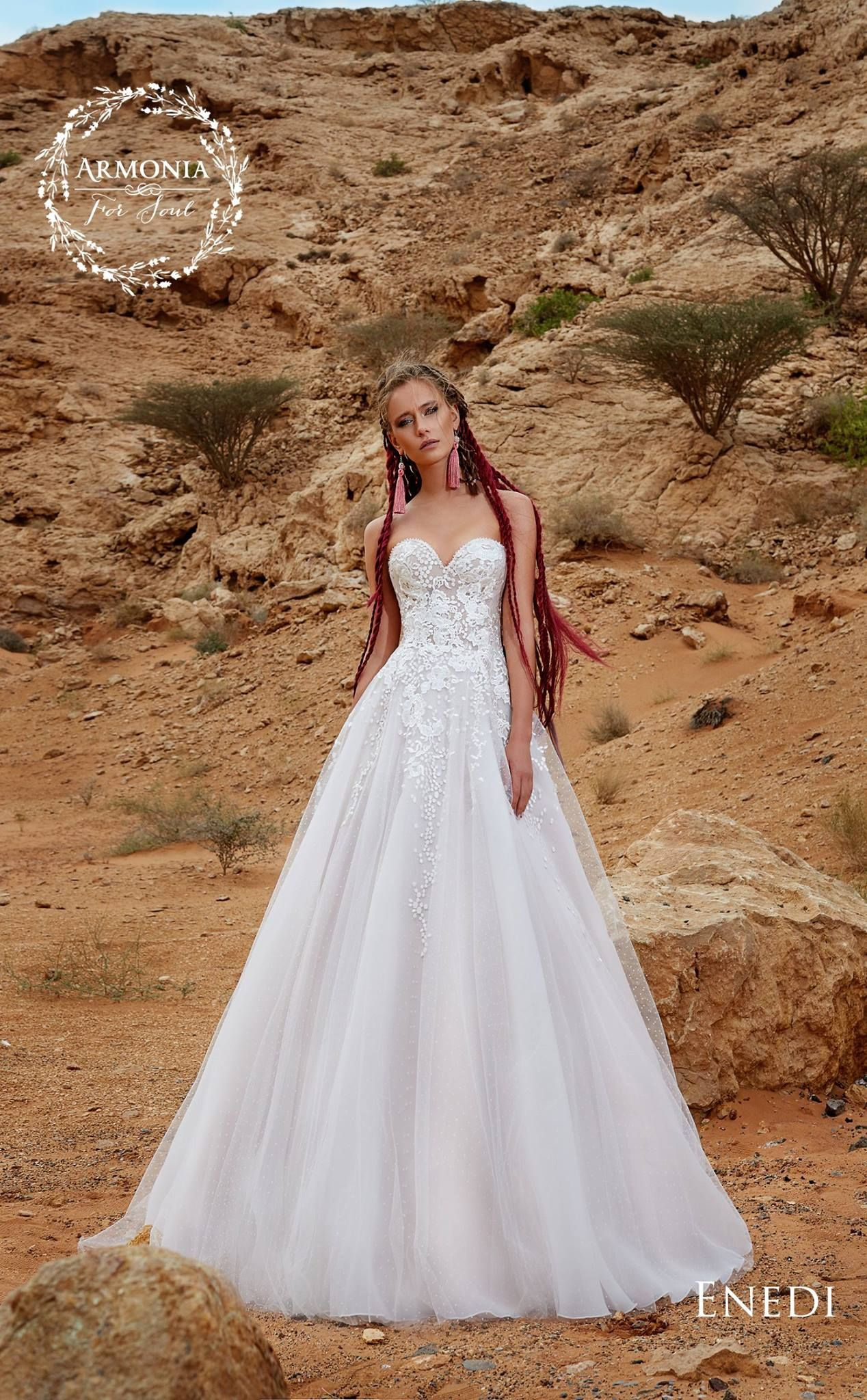 ENEDI wedding dress Collections 2018 by ARMONIA Couture in Charmé ...