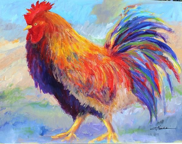 The Ol Crow Rooster ... by Local Artist Sandra Charlebois